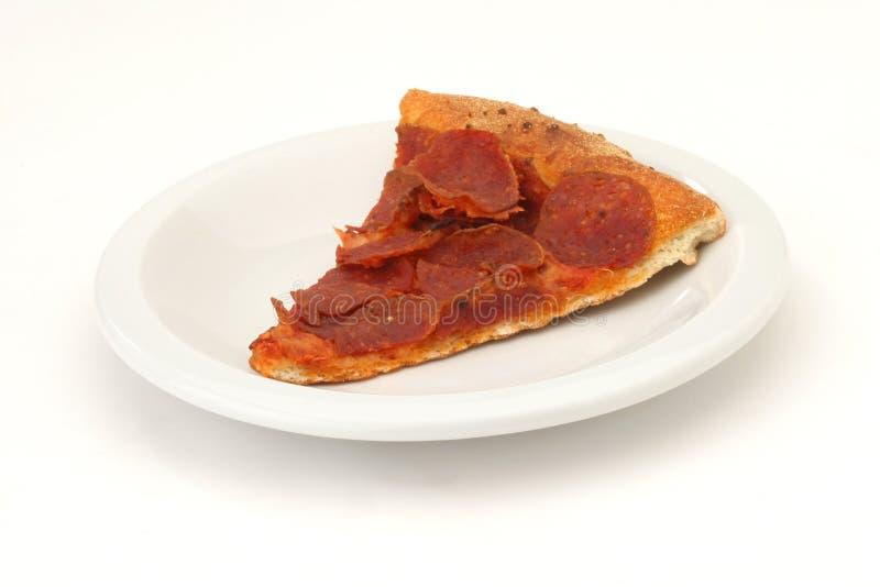 Scheibe der Pizza stockfoto