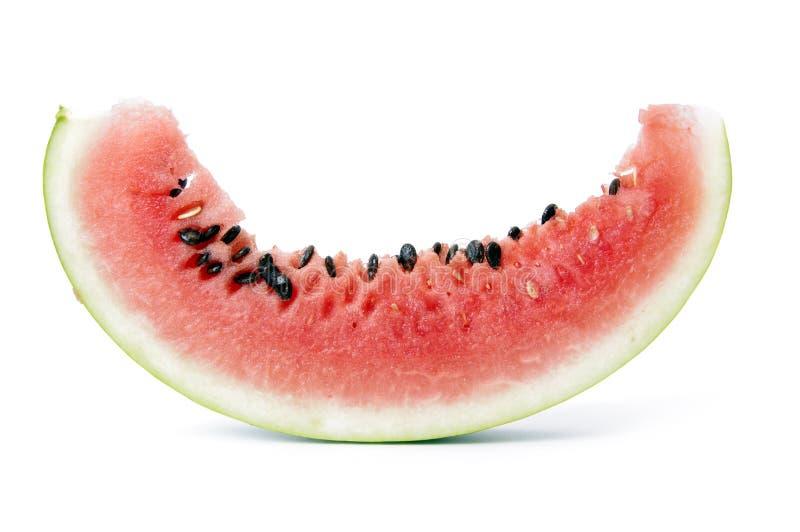 Download Scheibe der Wassermelone stockfoto. Bild von mahlzeit - 26352382