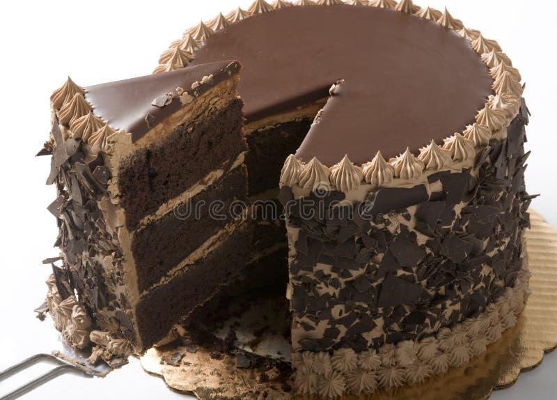 Scheibe des Kuchens lizenzfreie stockfotografie