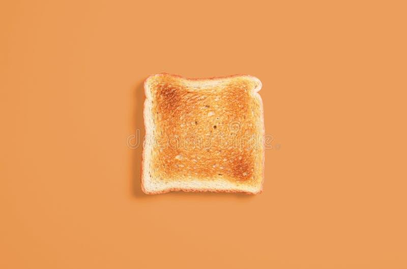 Scheibe des Toastbrotes stockfoto