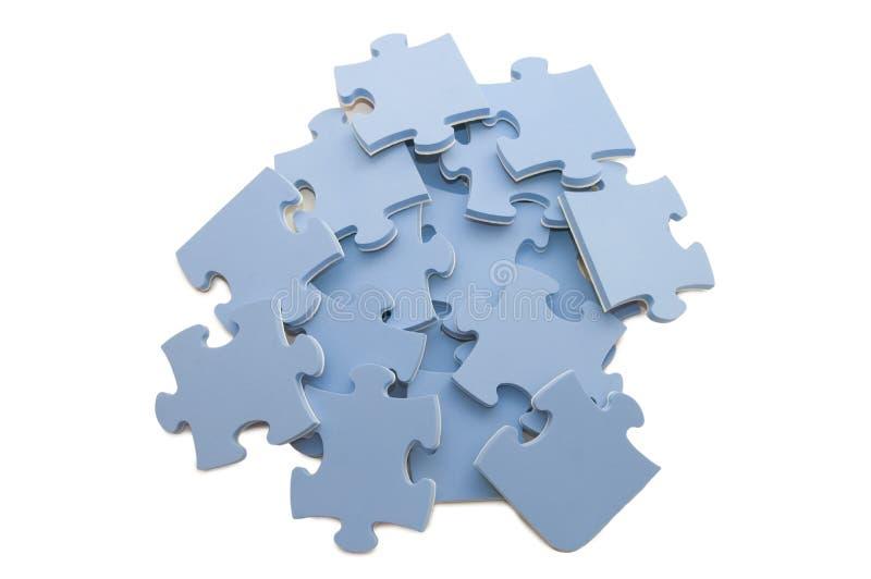 Download Scheiben des Puzzlespiels stockfoto. Bild von gruppe - 12200706