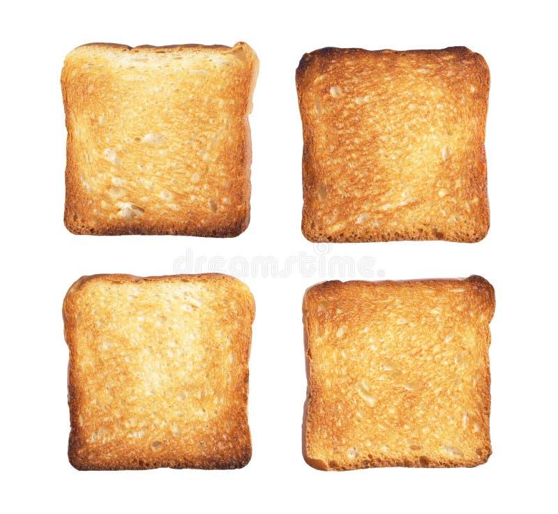 Scheiben des Toastbrotes lizenzfreies stockfoto
