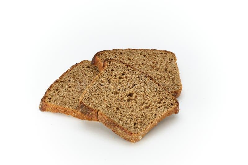 Scheiben von Graham-Brot stockfotografie