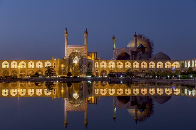 Scheich lotf Allah-Moschee in Isfahan der Iran stockfotografie