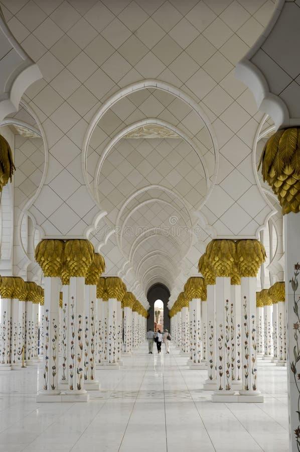Scheich Zayed Al Nahyan Mosque - Abu Dhabi lizenzfreies stockfoto