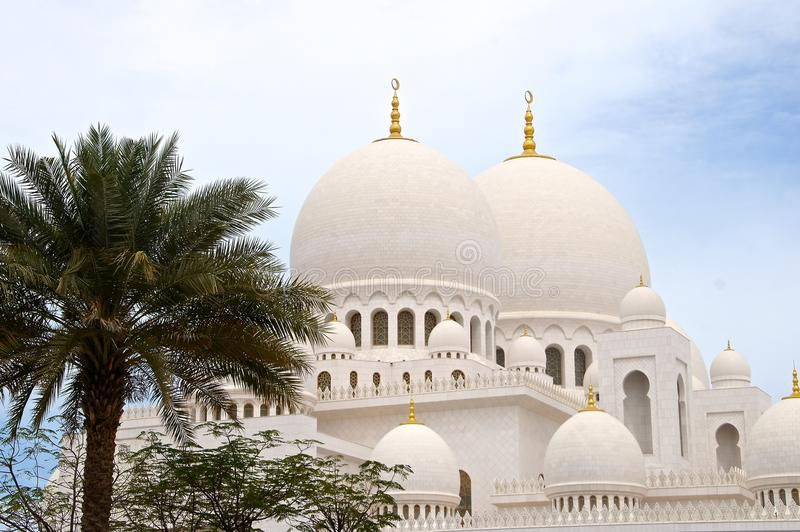 Scheich Zayed Grand Mosque, Abu Dhabi stockbild
