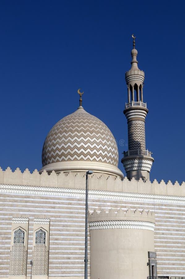 Scheich Zayed Mosque Ras Al Khaimah Dubai stockbilder