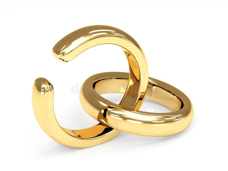 Scheidung stock abbildung
