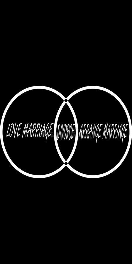 Scheidung Picsart bedeckt ästhetische Tapeten vektor abbildung