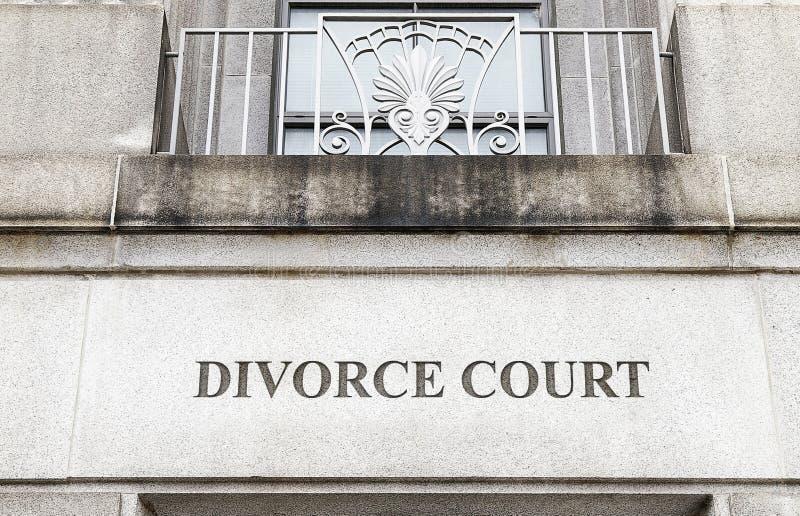 Scheidungsgericht stockfotos