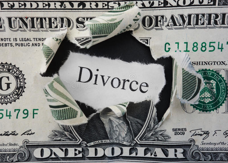 Scheidungsriss stockfotos