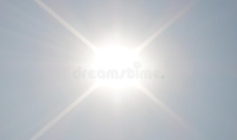 Scheinender Sun lizenzfreie stockbilder