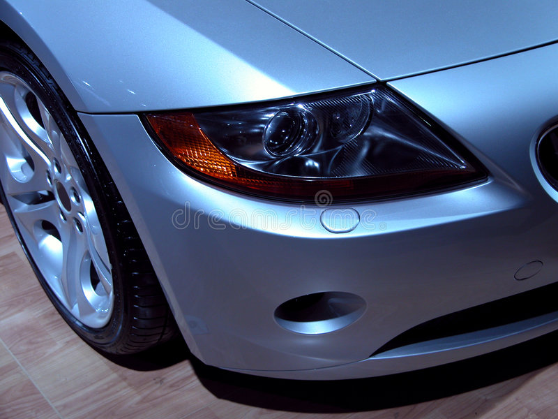 Scheinwerfer BMW-Z4 stockbilder