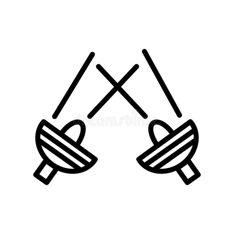 Scheinwerferikonenvektor lokalisiert auf weißem Hintergrund, Scheinwerferzeichen, Linie und Entwurfselementen in der linearen Art lizenzfreie abbildung
