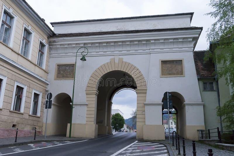 Scheipoort Brasov, Transsylvanië, Roemenië royalty-vrije stock afbeelding