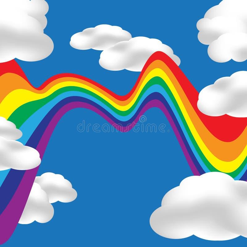 Download Schele Regenboog vector illustratie. Illustratie bestaande uit textuur - 54086698