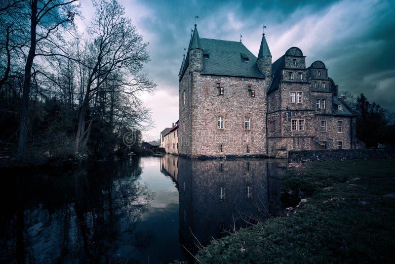 Schelenburg - Bissendorf Osnabrueck Γερμανία στοκ εικόνες με δικαίωμα ελεύθερης χρήσης