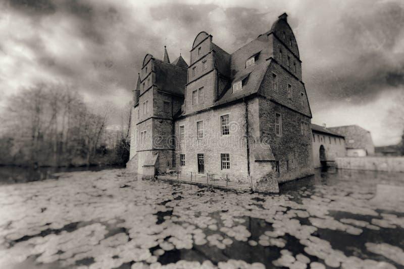 Schelenburg - Bissendorf Osnabrueck Alemania fotos de archivo