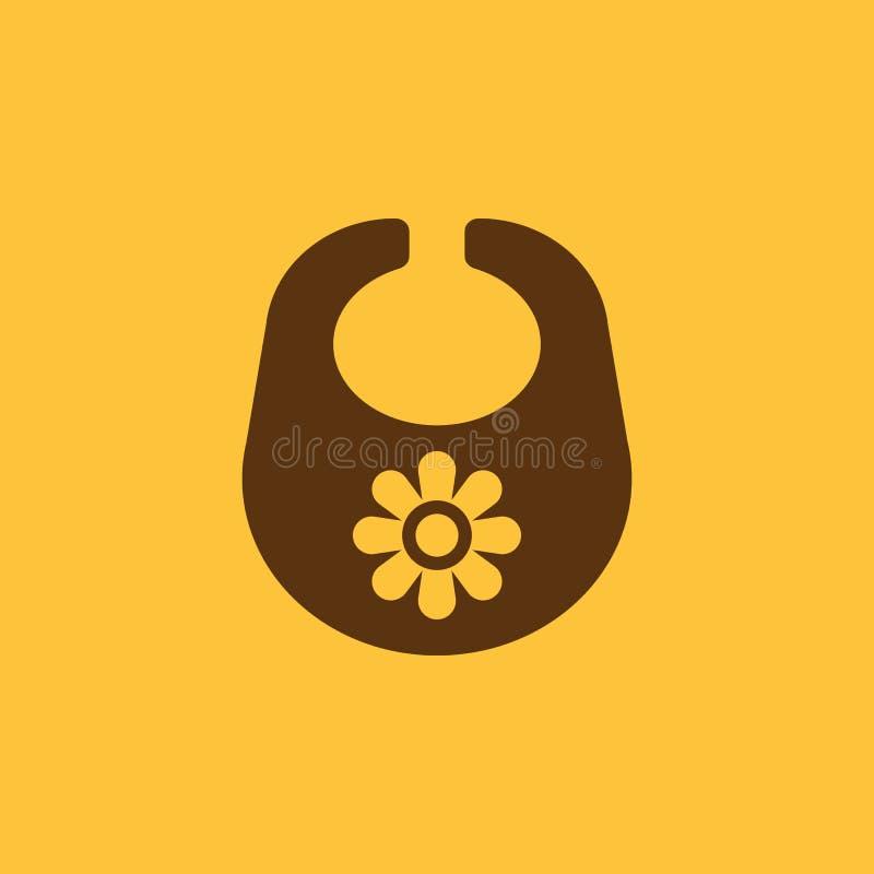 Schellfischikone Entwurf Brustplatte und Schutzblech, Schellfischsymbol web graphik ai app zeichen nachricht flach bild zeichen E lizenzfreie abbildung