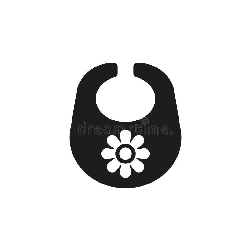 Schellfischikone Entwurf Brustplatten- und Schutzblechsymbol web graphik ai app zeichen nachricht flach bild zeichen ENV Kunst stock abbildung