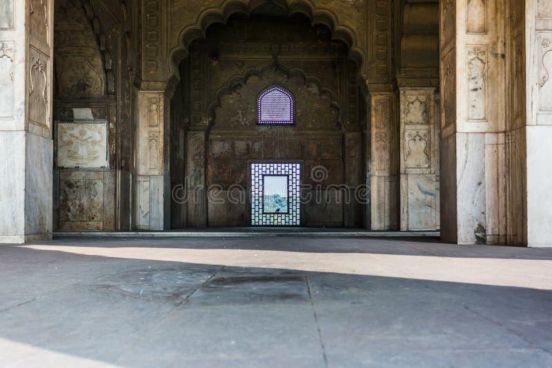 Schellte Mahal, rotes Fort (Delhi) lizenzfreies stockfoto