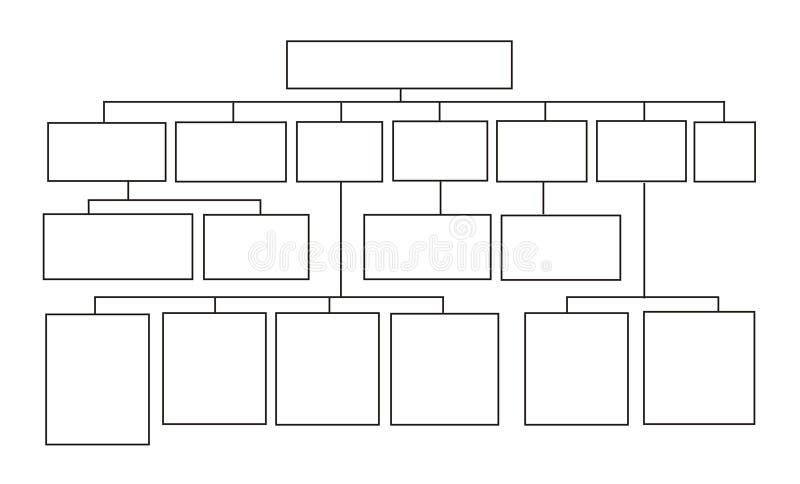 Schema a blocchi, priorità bassa illustrazione di stock