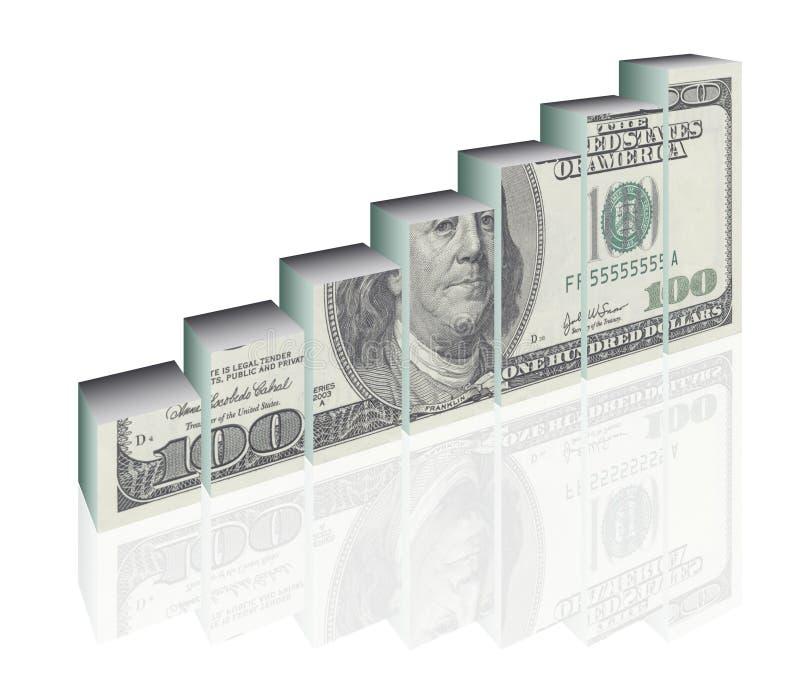 Schema di finanze illustrazione vettoriale