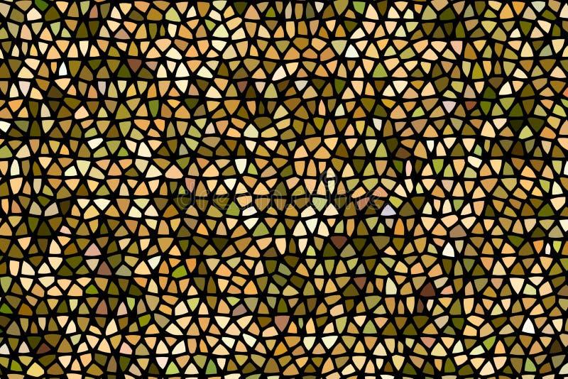 Schema geometrico astratto Schema di stampa della struttura della moda Ciliegi arcobaleno su fondo scuro Illustrazione illustrazione vettoriale