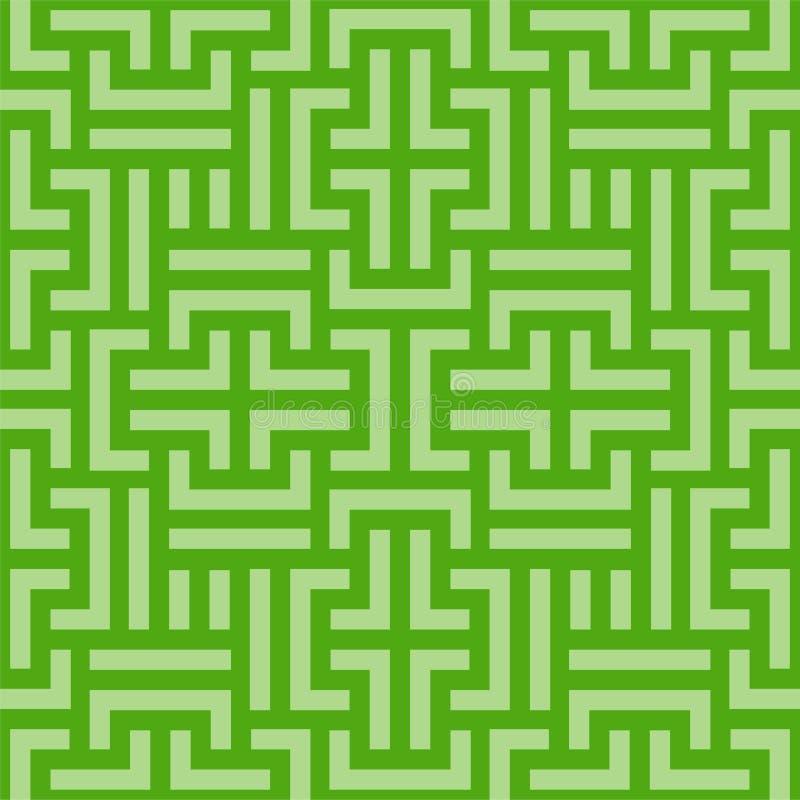 Schema geometrico incolore vettoriale Tessitura del tecno luminoso Ripetizione di sfondo digitale astratto con royalty illustrazione gratis