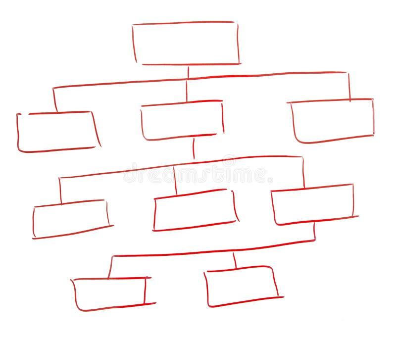 Schema vuoto illustrazione vettoriale