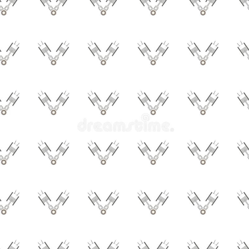 car service tool seamless pattern stock vector