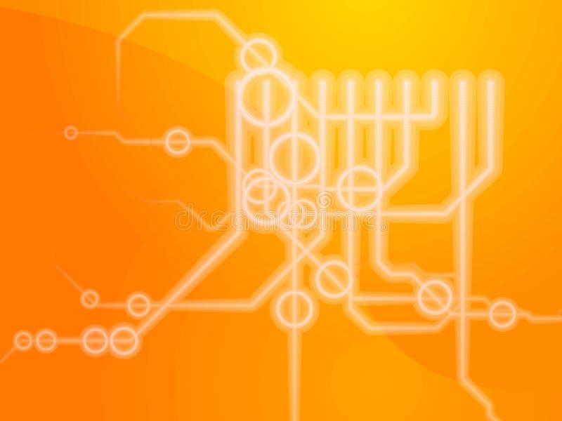schematics techniczni ilustracja wektor