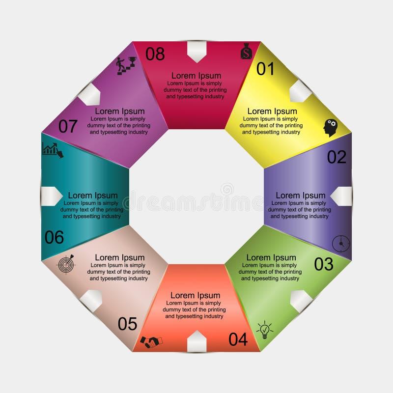 Diagram Eight Diagrams Baqua Stock Vector Illustration Of Baqua