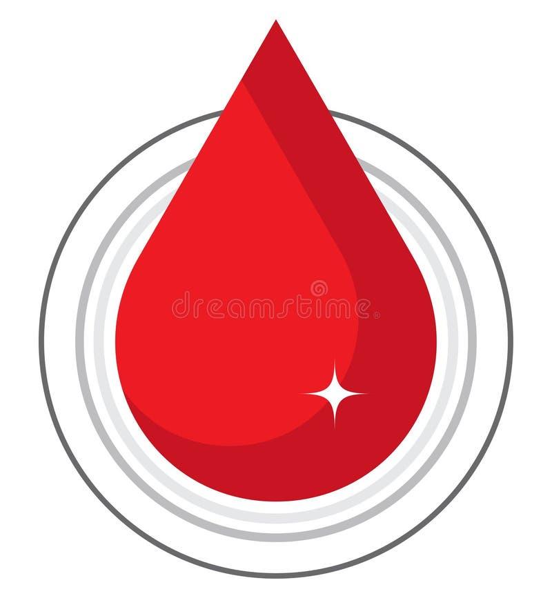 Schenk bloeddaling - vectorillustratie royalty-vrije illustratie