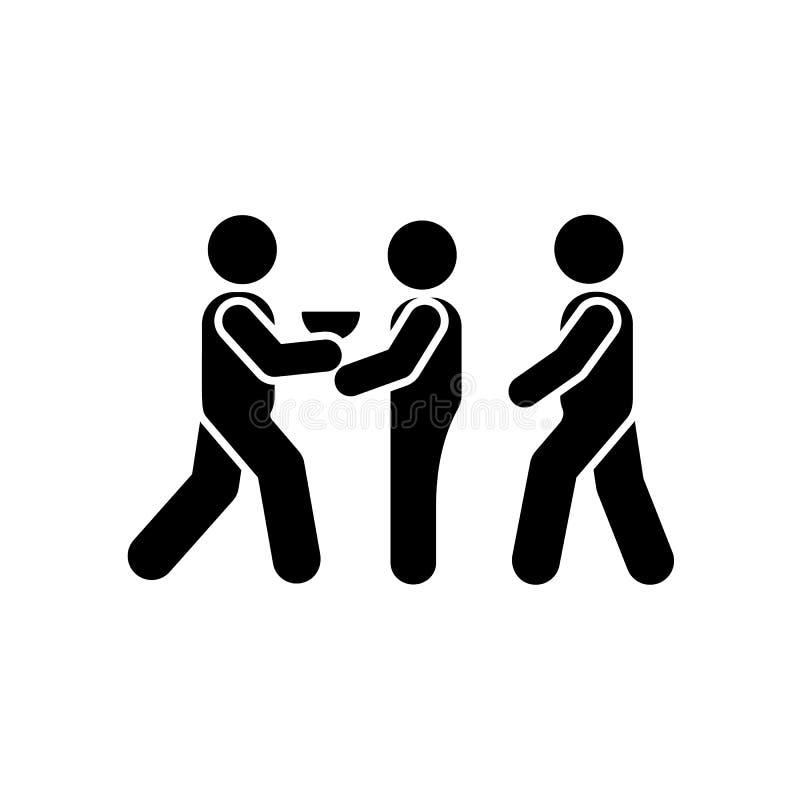 Schenking, hulp, vrijwilliger, mensenpictogram Element van vrijwilligerspictogrampictogram vector illustratie