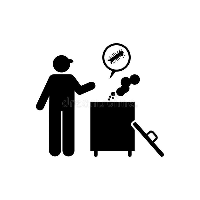 Schenking, virus, zikapictogram Element van aedes mug en knokkelkoortspictogram Grafisch het ontwerppictogram van de premiekwalit royalty-vrije illustratie