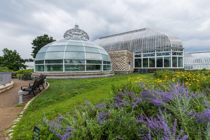 Schenleypark naast de Universiteit van de Staat van Pittsburgh in Pittsburgh, royalty-vrije stock foto