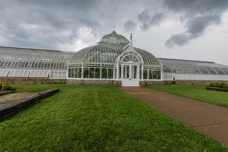 Schenleypark naast de Universiteit van de Staat van Pittsburgh in Pittsburgh, royalty-vrije stock foto's