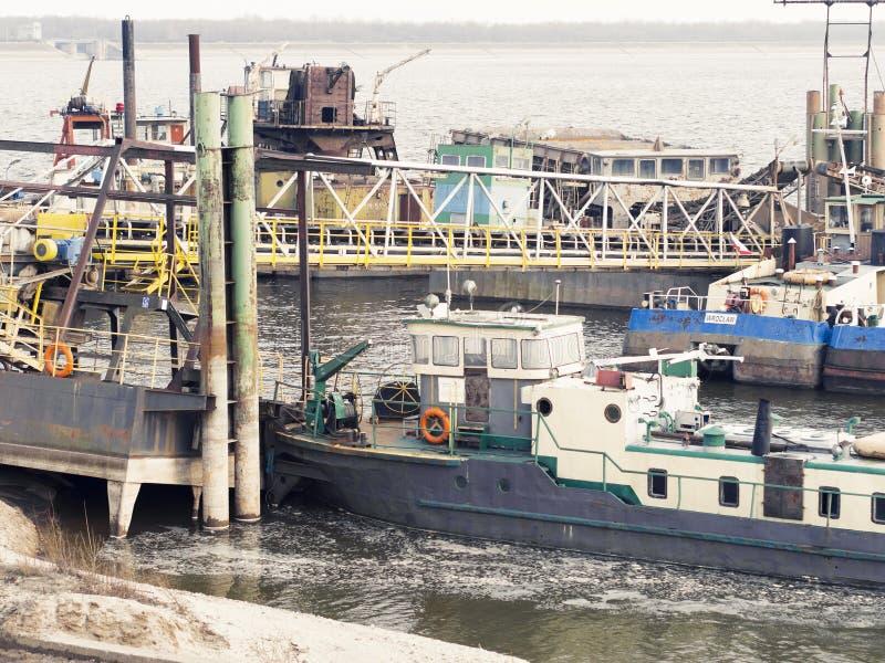 schepen stock foto's