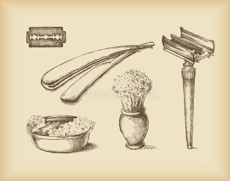 Scherende Apparatuur stock illustratie