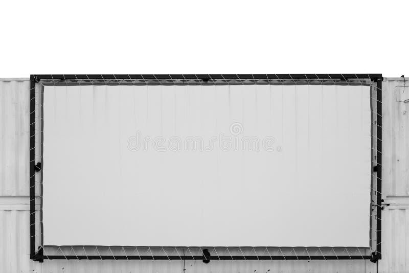 Schermata di proiezione con sfondo contenitore immagini stock libere da diritti