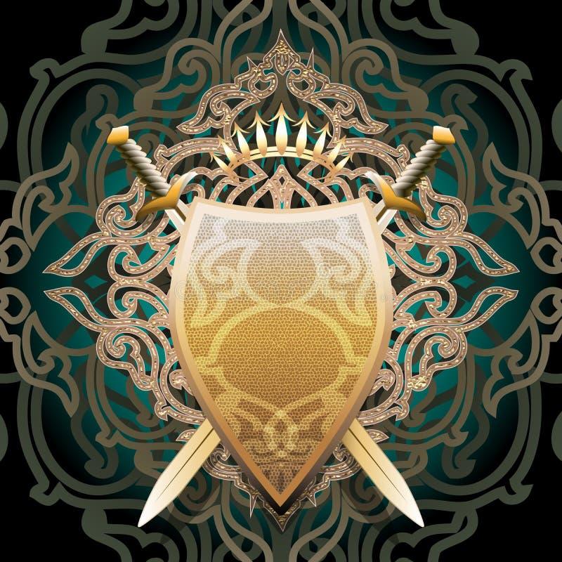 Schermo ambrato royalty illustrazione gratis