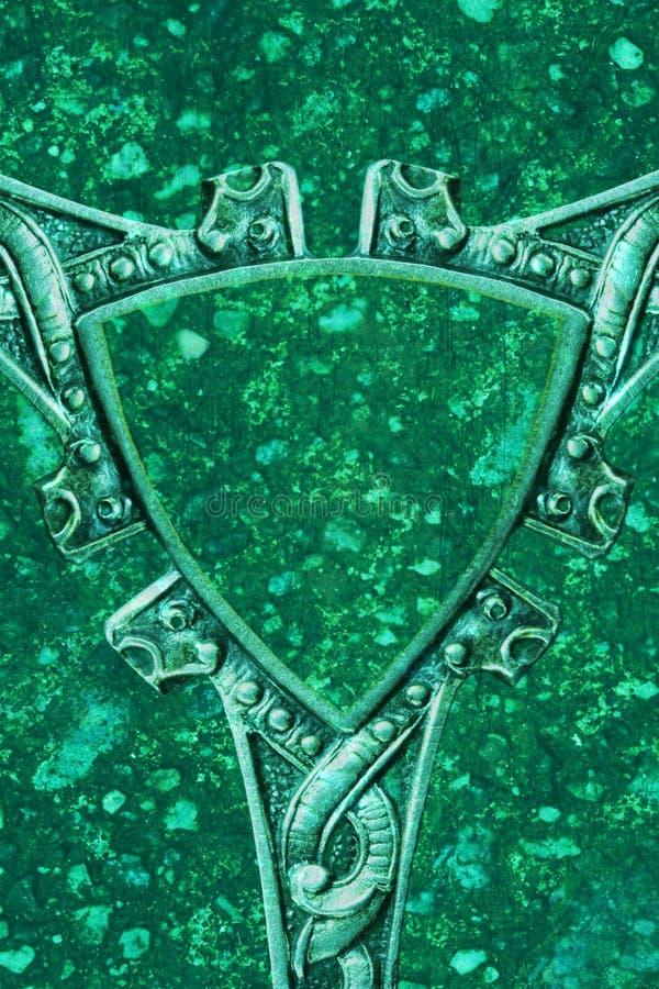Schermo celtico fotografia stock libera da diritti