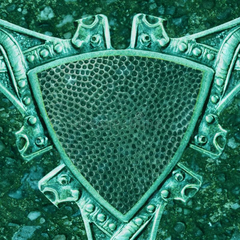 Schermo celtico immagine stock libera da diritti