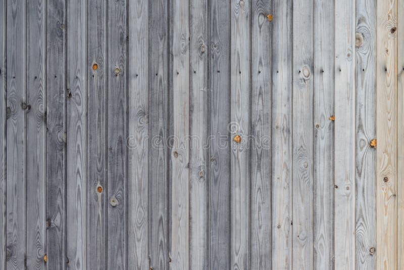 Schermo del bordo di legno abbattuto per la casa o la parete, bello fondo, struttura di legno senza elaborare immagini stock