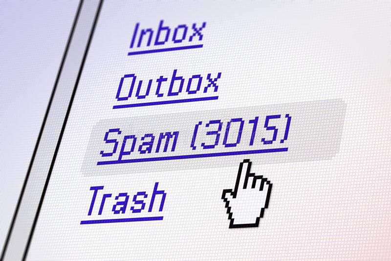 Schermo del email