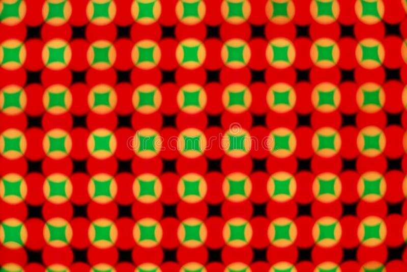 Download Schermo del LED immagine stock. Immagine di esagono, geometry - 7324269
