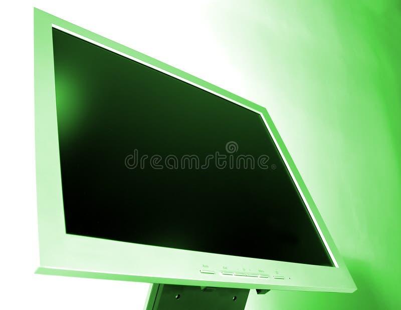 Schermo dell'affissione a cristalli liquidi immagine stock