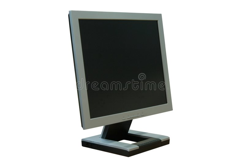 Schermo Dell Affissione A Cristalli Liquidi Fotografie Stock