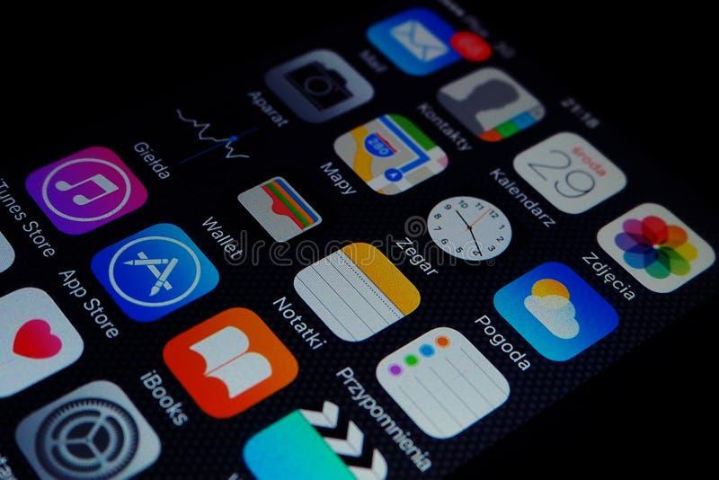 schermo di iPhone